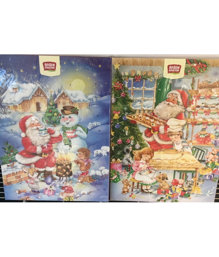 Calendario Avvento Cioccolato.Calendario Dell Avvento Con Cioccolato A Latte