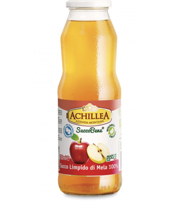 Succo limpido di mele
