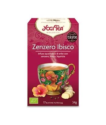 Tisana Zenzero Ibisco Yogi Tea